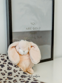 Bunnies By The Bay | knuffel Tiny Nibble Bunny Pink