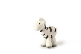Tikiri Zebra bad- en bijtspeelgoed met rammelaar