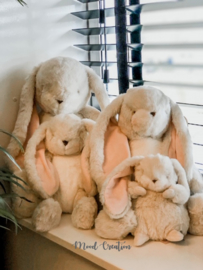 Bunnies By The Bay | knuffel Little Nibble Bunny cream