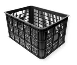 Krat Basil L  Voorop Zwart 50 Liter