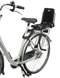 Achterzitje Bobike Junior  Framebevestiging Urban Black
