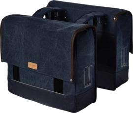 Dubbele Fietstas Basil Urban Fold  Double Bag Deep Denim Blue 42 Liter