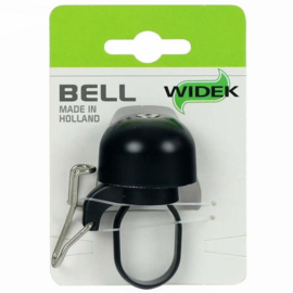 Fietsbel Widek Paperclip  Zwart Mini Zwart