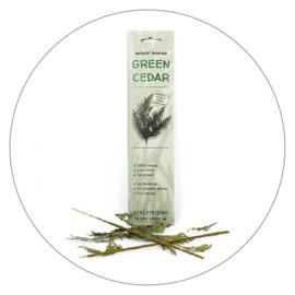 Wierookstokjes Green Cedar