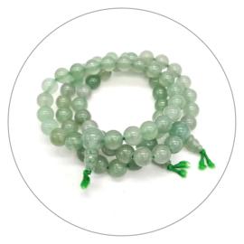 Edelsteen powerbead armband Aventurijn groen