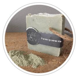 100% natuurlijke zeep Franse groene klei