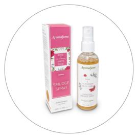 Aromafume Naturals smudge spray witte salie & roos