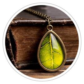 Green Leaf halsketting
