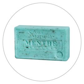 Marseille zeep Muntblaadjes