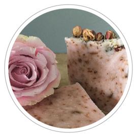 100% natuurlijke zeep Engelse roos