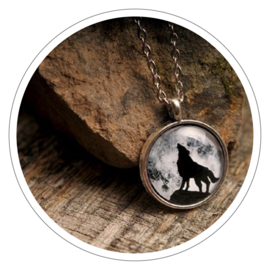Howling Wolf halsketting