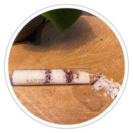 100% natuurlijke badzout roos