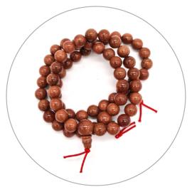 Edelsteen powerbead armband Goudsteen