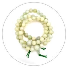 Edelsteen powerbead armband Jade