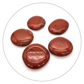 Jaspis rood zaksteen