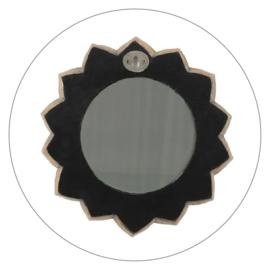 Spiegel Chakra bloem