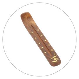 Wierookplankje mangohout met Ohm symbool