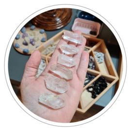 Bergkristal puntje