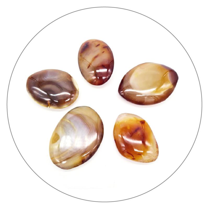 Carneool zaksteen large