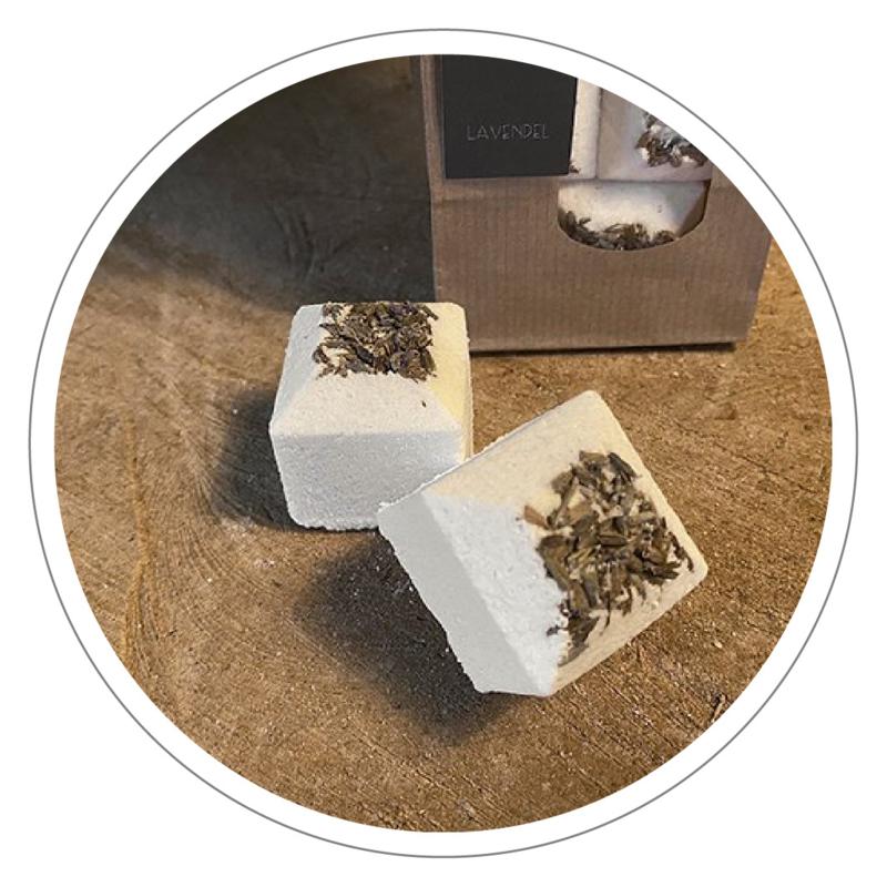 100% natuurlijke Bath Bomb (bruisbal) Lavendel