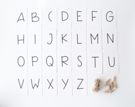 Maak je eigen letterslinger