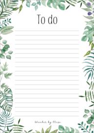 Notitieblok botanisch A5