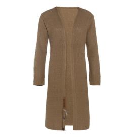 Knit Factory Luna Gebreid Vest New Camel 36/38