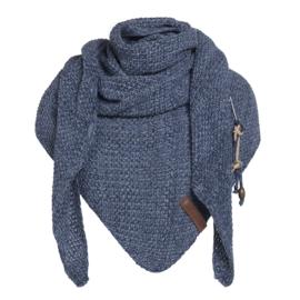 Knit Factory Coco Omslagdoek Jeans / Indigo