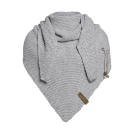 Knit Factory Coco Omslagdoek Lichtgrijs