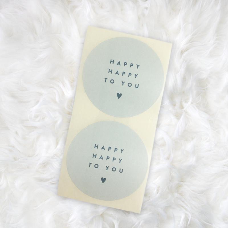 HAPPY HAPPY TO YOU