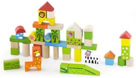 Blokken New Classic Toys zoo