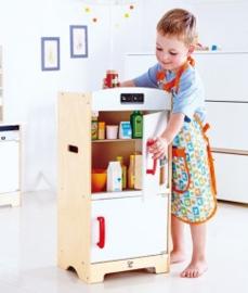 houten koelkast wit Hape