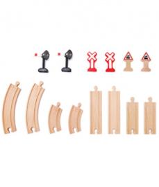 houten uitbreidingsrails Hape