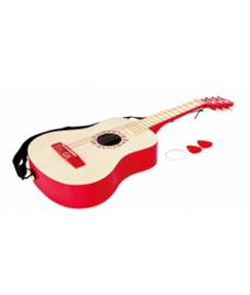 Houten gitaar Rood Hape