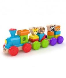Ontdekkingstrein houten speelgoed