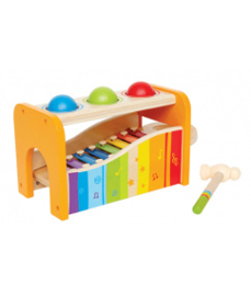 Pound and tap bench Hape