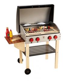 houten barbecue hape