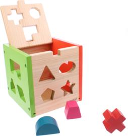 houten blokkendoos 14-delig