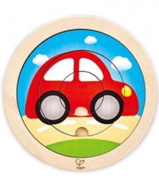 Spinning Transport puzzel