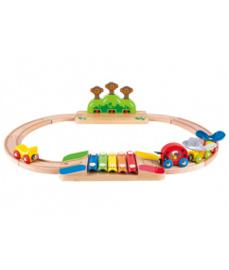 Mijn kleine houten treinrails
