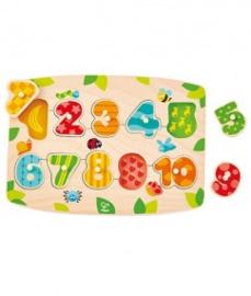 Number Peg puzzel