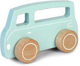 Bus hout Little Dutch Blauw