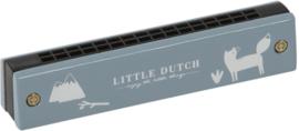 Mondharmonica Little Dutch Blauw