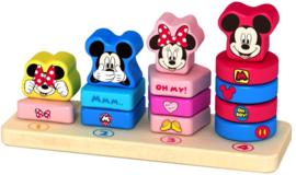 Tel- en stapelspel Mickey Mouse