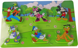 Puzzel Mickey Mouse hout