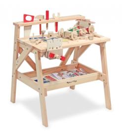 houten werkbank 61-delig