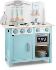 Kinderkeuken Bon apetit deluxe blauw