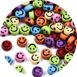 Letterkralen smiley rainbow 25st