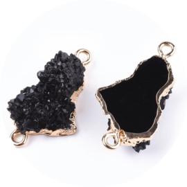 Resin stone black