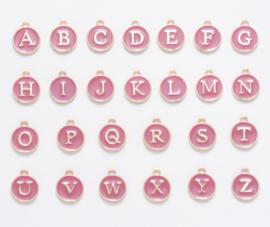 Bedels Alfabet roze 26st